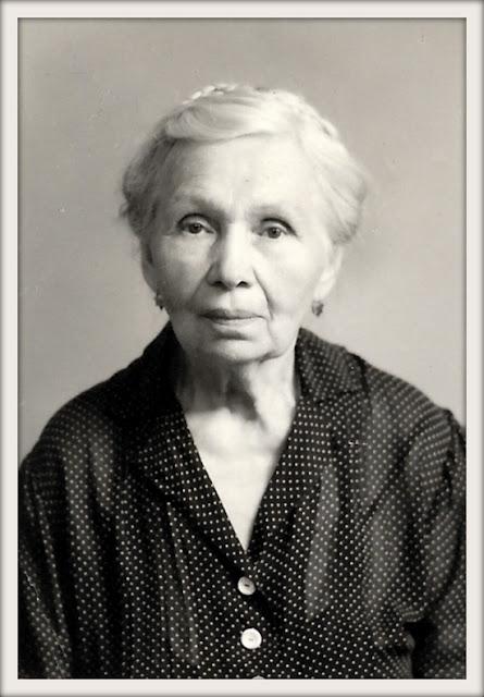 Stepanida Yakovlevna Kozyrev Mitrofanenko aka Stephany Mitrofanenko, Mid 1950's, San Francisco