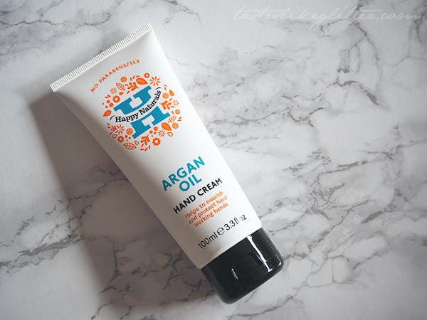Happy Naturals Argan Oil Hand Cream.