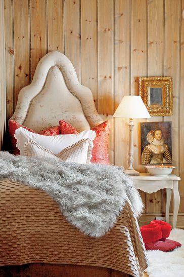 dormitor in stil clasic francez