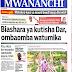 Habari Zilizopo Katika Magazeti ya Leo Jumapili ya May 27