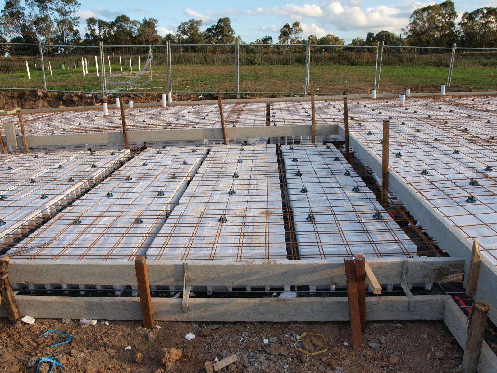Building our new home pre slab - Building a new house ...