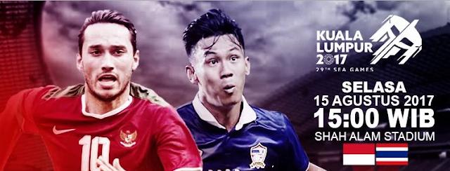 Jadwal Siaran Langsung Timnas Indonesia vs Thailand