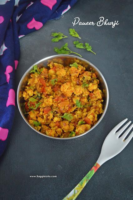 Paneer Bhurji Recipe   How to make Paneer Bhurji