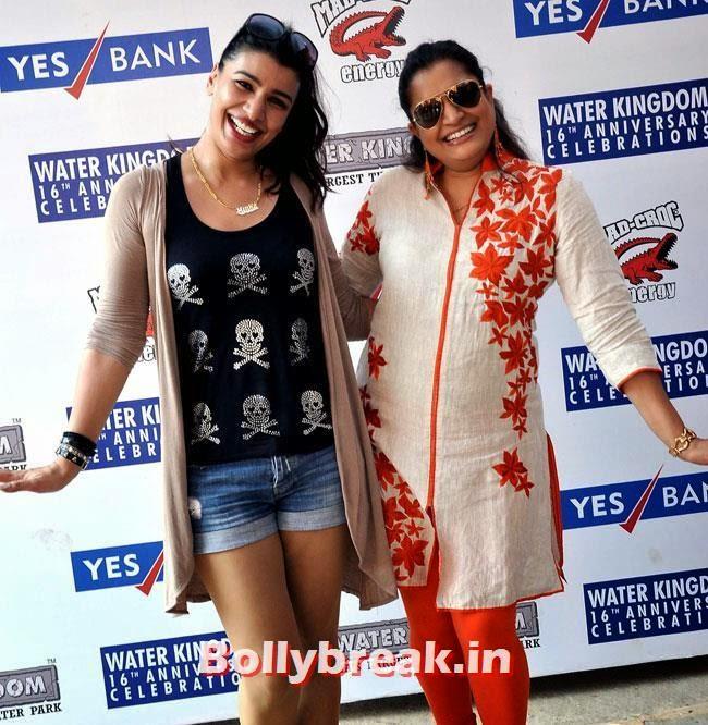 Mink Brar and Ekta Jain, Mink Brar at 16th Anniversary of Water Kingdom