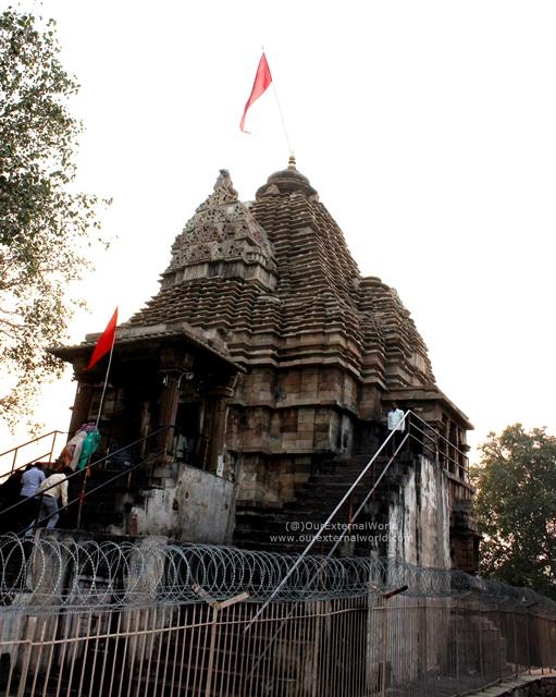 Shiva Temple, Just Outside The Western Temple Complex, Khajuraho