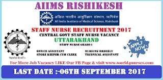 http://www.world4nurses.com/2017/08/aiims-rishikesh-staff-nurse-grade-i.html