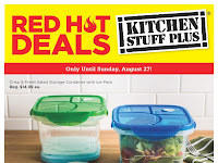 Kitchen stuff plus flyer valid August 21 - 27, 2017