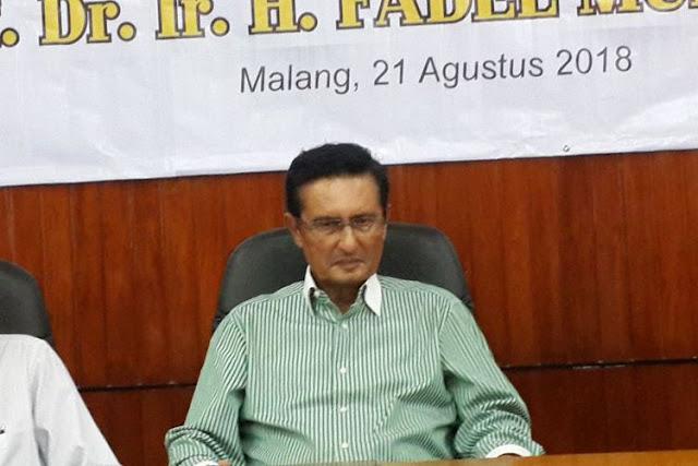 Fadel Muhammad Sebut Golkar Pecah karena Jokowi Gandeng Ma'ruf Amin