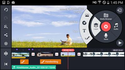 تحميل KineMaster  بدون شعار البرنامج افضل تطبيق لتحرير وعمل مونتاج للفيديو اخر اصدار