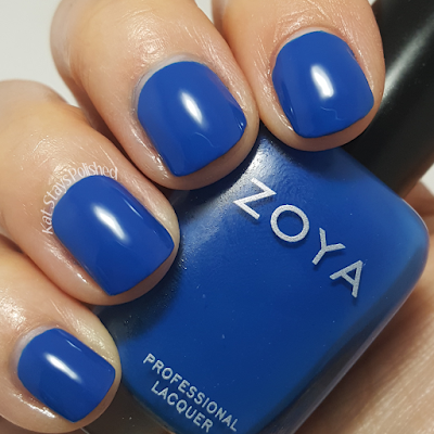 Zoya Urban Grunge Once Coat Creams - Mallory | Kat Stays Polished