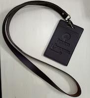 lanyard murah, tali id card kulit, lanyard kulit, name tag kulit, seminarkit kulit, embos kulit, telkomsel, barang promosi murah jakarta