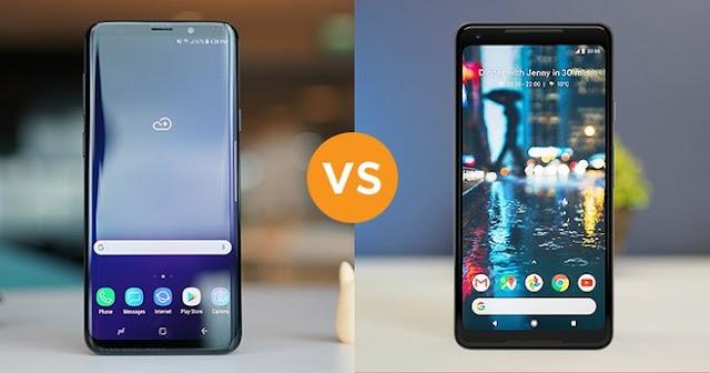 Ulasan Lengkap! Samsung Galaxy S9 Plus vs Google Pixel 2 XL, Apakah Tidak Ada Yang Terbaik