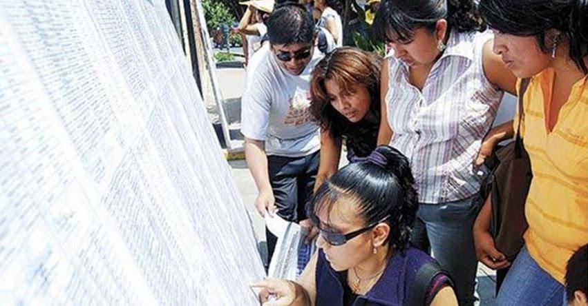 MINEDU retirará en el sur a 1,307 profesores interinos
