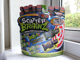 12 days of Christmas, Christmas gifts 2012, Scatter Brainz darts