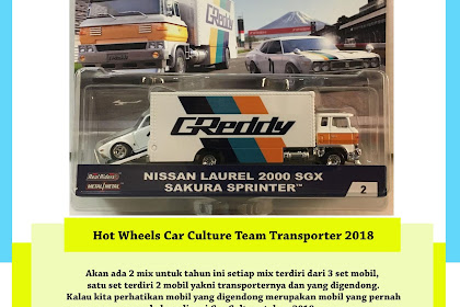 Hot Wheels Car Culture Team Transport 2018