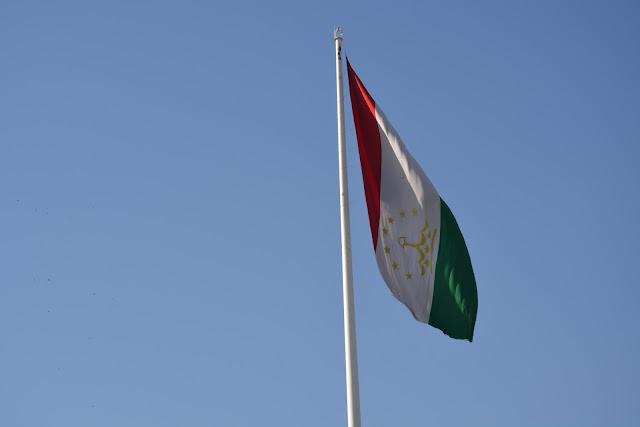 Tacikistan Bayrağı