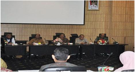 Pjs Walikota Padang Meminta Kejelasan Terkait Jumlah Daftar Pemilih Tetap (DPT)