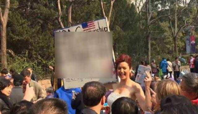 Heboh Wanita Asal Amerika Lelang Dirinya di Pasar Jodoh