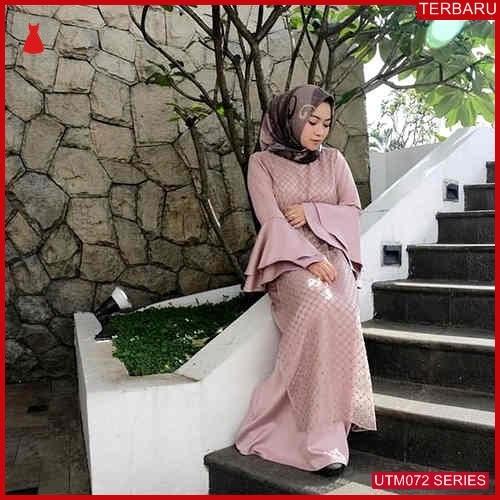 UTM072C114 Baju Coren Muslim Dress Dewasa Pink UTM072C114 048 | Terbaru BMGShop