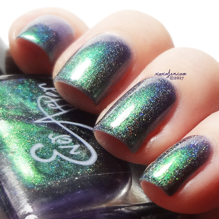 xoxoJen's swatch of Ever After Purrfect