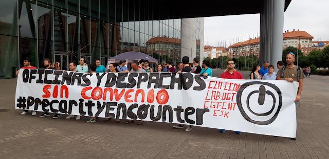 protestas oficinas y despachos ante BEC!