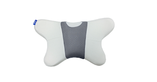 Ergonomic pillow designed for stomach sleepers
