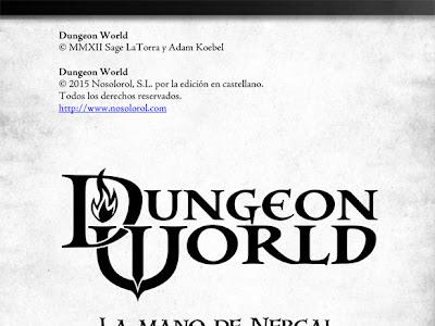 La mano de Nergal - Aventura para Dungeon World en libre descarga