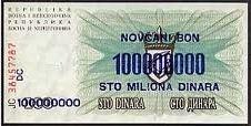 Seratus Juta Dinara – Bosnia