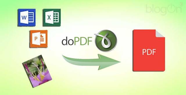 Cara Mudah Mengubah Ms Words, Ms Excel ke PDF Gratis DoPDF