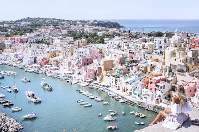 Style and Travel in Italy | A vacation to the island of Procida, Italy