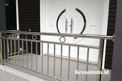 Daftar Harga Railing Balkon Stainless Minimalis