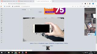 cara mudah membuat background gambar menjadi transparan