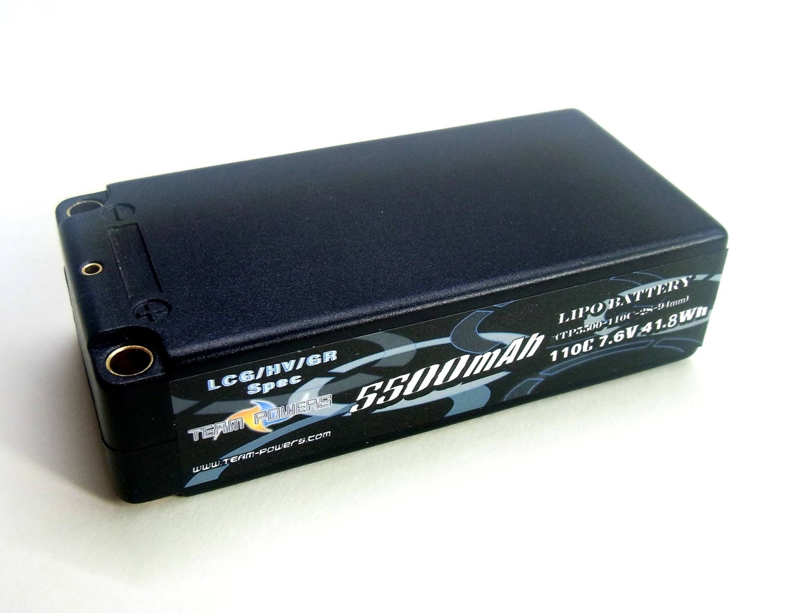 team powers 7 6v 5500mah 110c shorty pack lipo battery hv graphene. Black Bedroom Furniture Sets. Home Design Ideas