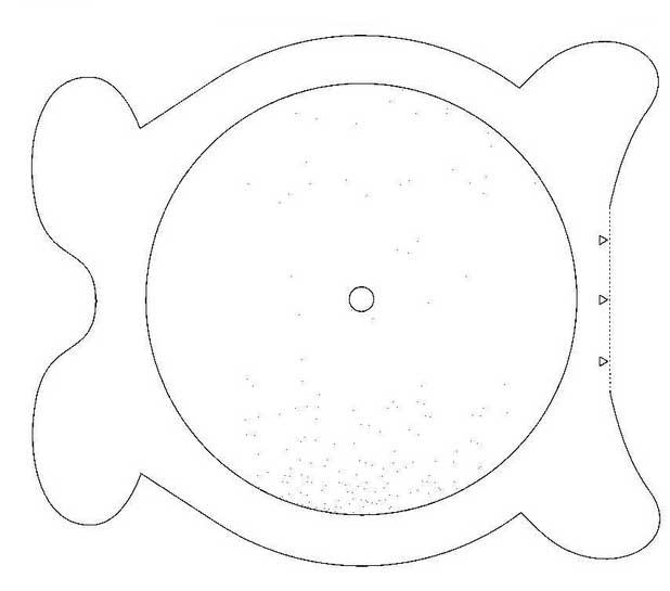 M gico detalle reloj de osito - Mecanismo para reloj de pared ...