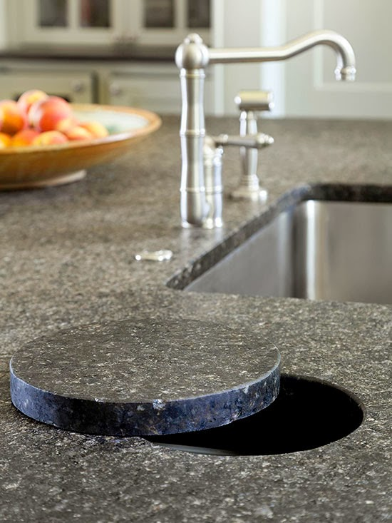Aged Character Flamed Granite Countertops Have A Distinct Texture That Gives Them Timeworn Look This Adds To Rugged Country Style In