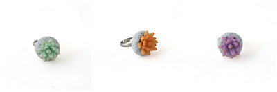 Succulent Statement Ring at Lottie Of London Jewellery
