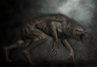 Black Dog Creature