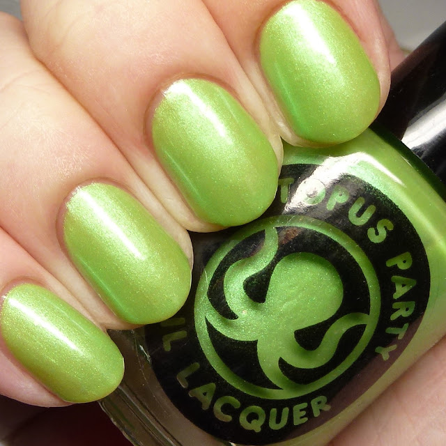 Octopus Party Nail Lacquer Matcha Maker