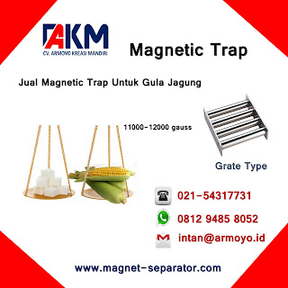 Magnetic Trap Type Grate