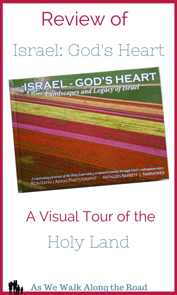 Review of Israel God's Heart photography book