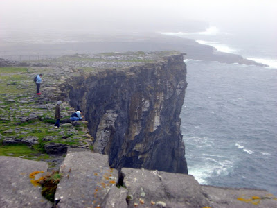 Cliffs in the Aran Islands