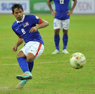 Safiq Rahim Free Kick