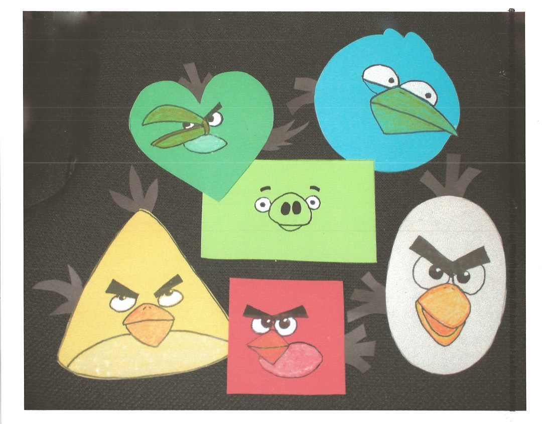 Classroom Freebies Too Teaching Shapes With Angry Birds