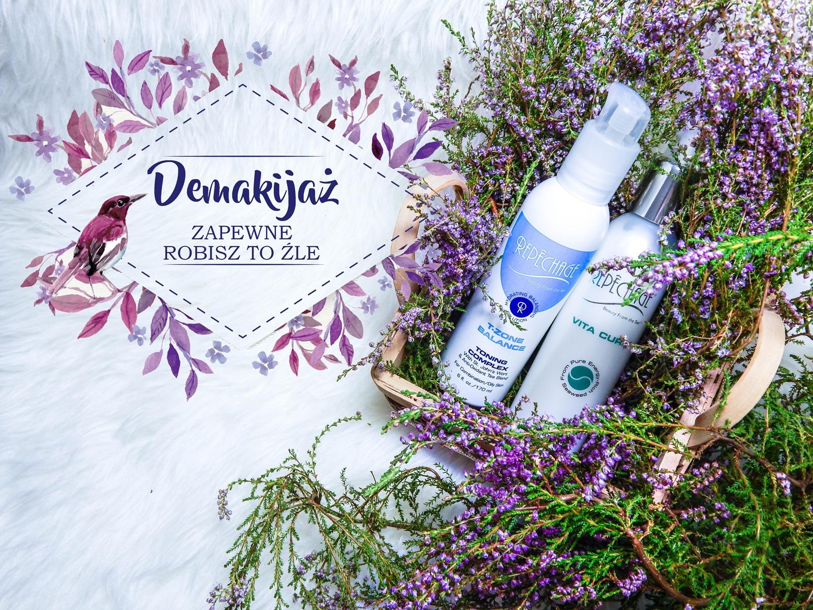 naglowek repechage vita cura mleczko t-zone balance tonik demakijaz jest wazny jak zrobic poprawny demakijaz jak zmyc makijaz porady kosmetyki naturalne melodylaniella