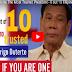 Good News!! Pangulong Duterte nanatiling pinaka-pinagkakatiwalaan tao sa Asia ayon sa pinakalatest na tala ng Pulse Asia Survey ngayong taon!