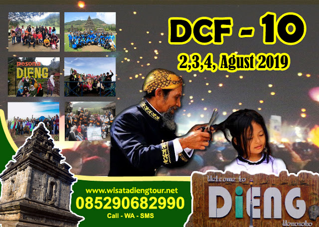 brosur paket dieng culture festival dcf 2020