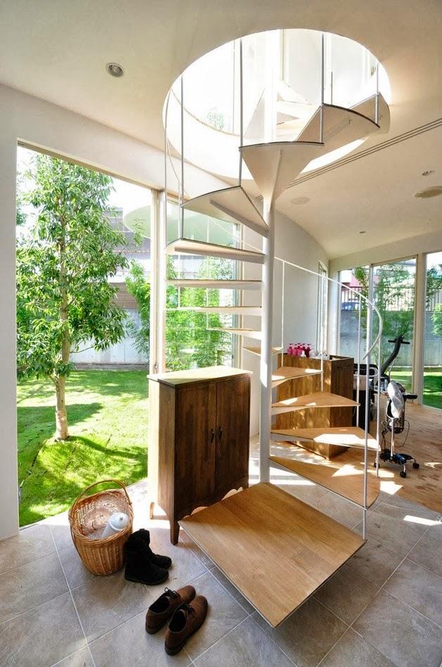Rumah Unik dengan Dinding Kurva | Desain Rumah Modern ...