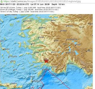 Σεισμός 5 Ρίχτερ στην Τουρκία