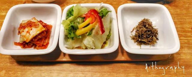 Aneka Banchan di Restoran Korea (반찬)