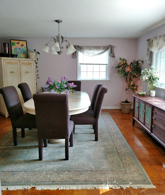 dining room paint Sherwin Williams Wallflower